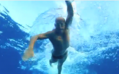 """Want to Swim Like an Olympian? Then Avoid the """"Crossover Effect"""""""