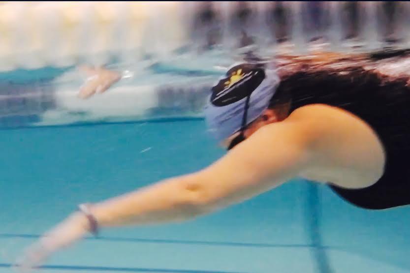 Dinah Swimming